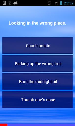 English Idioms Quiz
