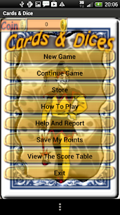 Cards Dice- screenshot thumbnail