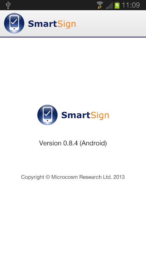 SmartSign- screenshot