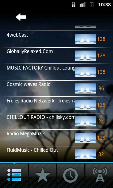 Chillout Radio - screenshot