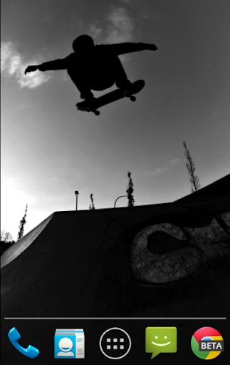 スケートボードのライブ壁紙