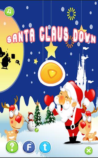 Santa Claus Down