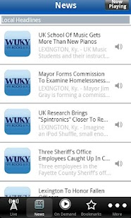 WUKY Public Radio App - screenshot thumbnail
