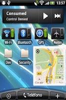 Screenshot of Where I Am Widget Demo
