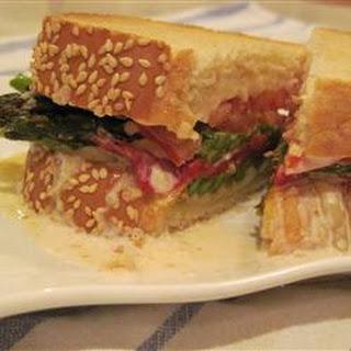 Awesome Asparagus Sandwich