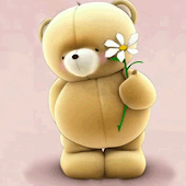Teddy And Flower Wallpapers