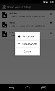NFC Tools Plugin : Reuse Tag - screenshot thumbnail