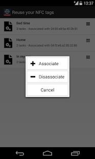 NFC Tools Plugin : Reuse Tag- screenshot thumbnail