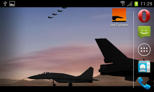 Jet Fighters -Live- Wallpaper