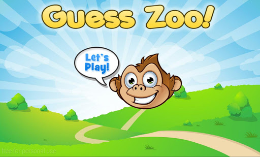 Zoo Animals Guessing Game