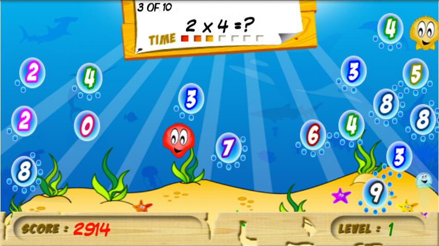 Math Bubbles - screenshot
