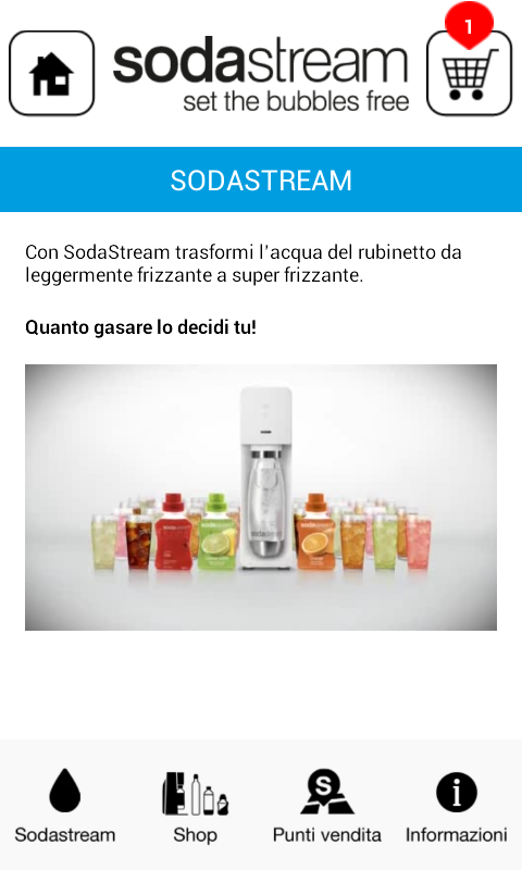 SodaStream- screenshot