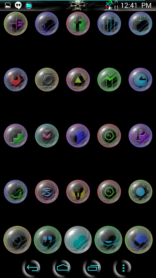 NeoGlaSs ICONS- screenshot