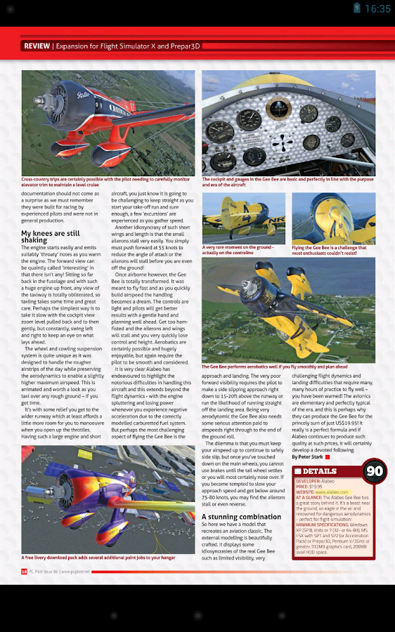 PC Pilot Magazine - screenshot