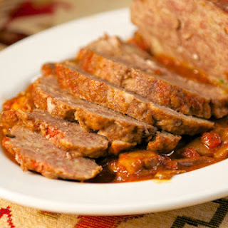 Polpettone in Umido Con Funghi (Meatloaf in Tomato and Mushroom Sauce) Recipe