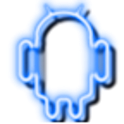 Neon Blue GO Launcher Theme icon
