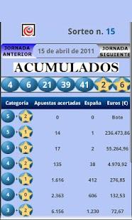España Loterías - screenshot thumbnail