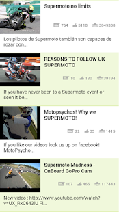 Supermoto Videos - screenshot thumbnail
