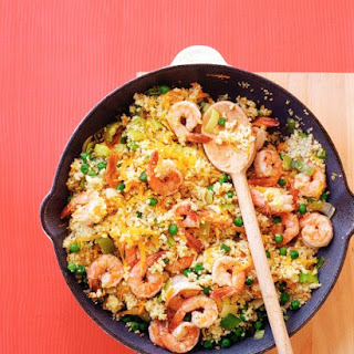 Shrimp with Couscous.