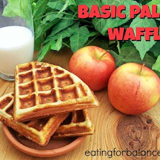 Basic Paleo Waffles