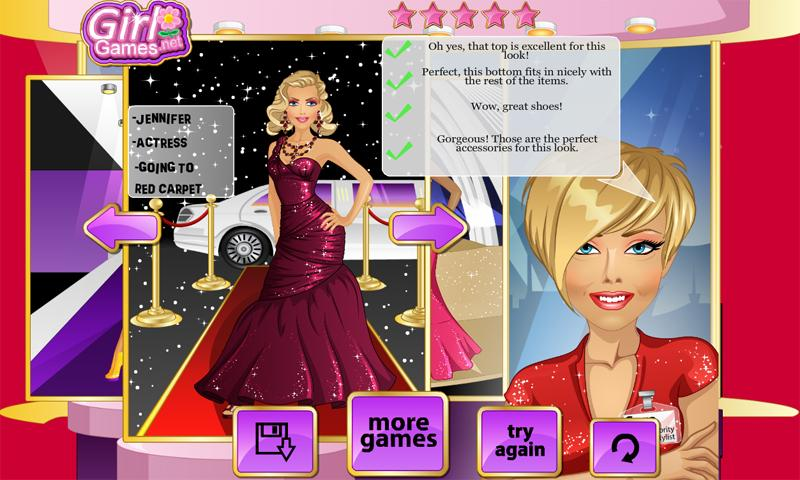 Stylist for the Stars - screenshot
