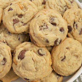 Triple Peanut Triple Chocolate Chip Cookies.