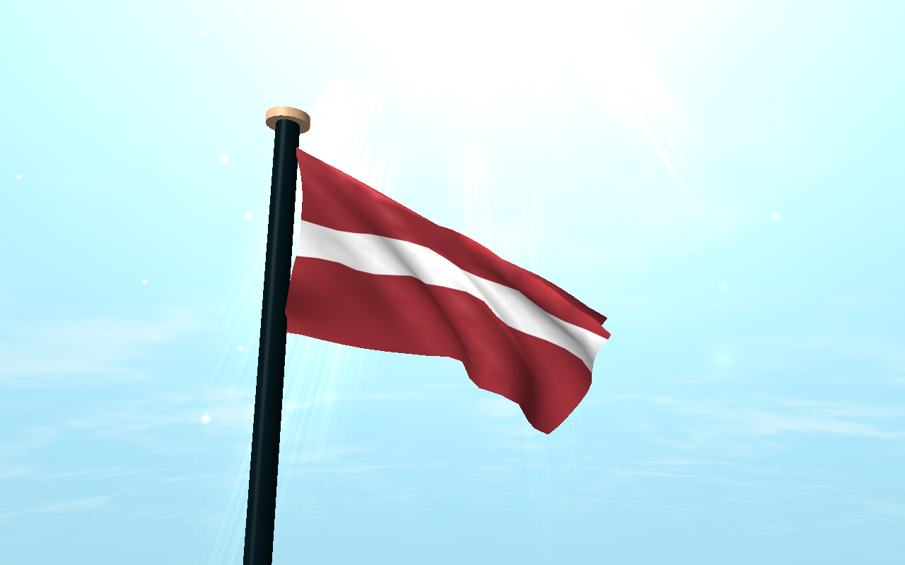 Latvia Flag 3D Free Wallpaper- screenshot