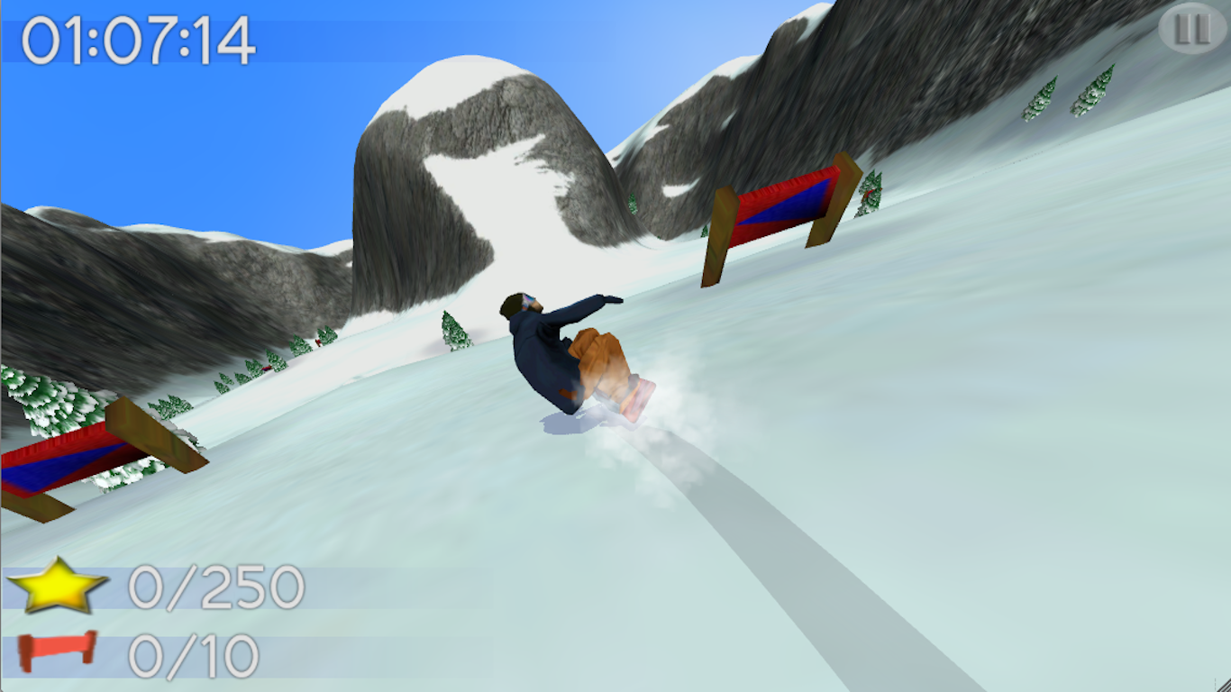 Big Mountain Snowboarding- screenshot