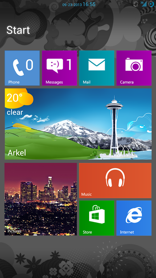 WP8 Metro UCCW - screenshot