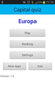 首都测验:欧洲的