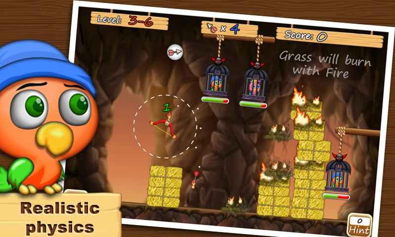 Free The Birds (with Archery ) - screenshot