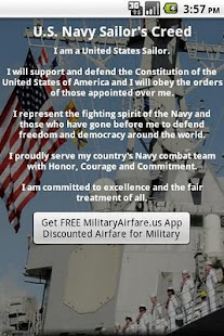U.S. Navy Sailor's Creed - screenshot thumbnail