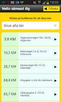 Screenshot of Netto Sverige