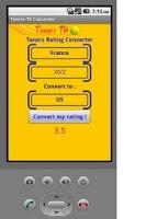Screenshot of Tennis Converter