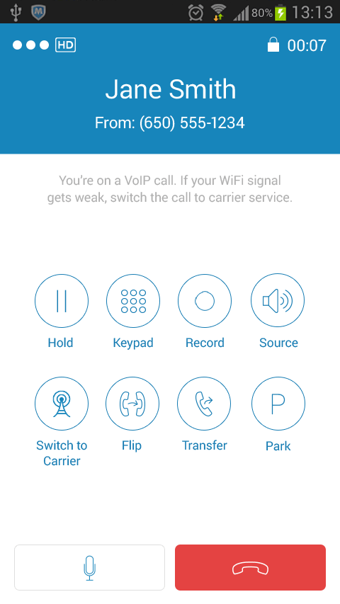 RingCentral - screenshot