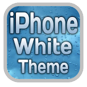 iPhone White CM7 Theme MDPI