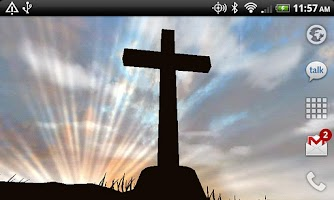 Screenshot of 3D Cross Free Live Wallpaper