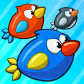 Turbo Birds: Fun Race