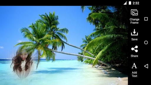 Beach Free Photo Frame