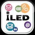 iLED 不在着信やメール受信の通知 icon