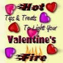 Tips and Treats Valentines Day logo
