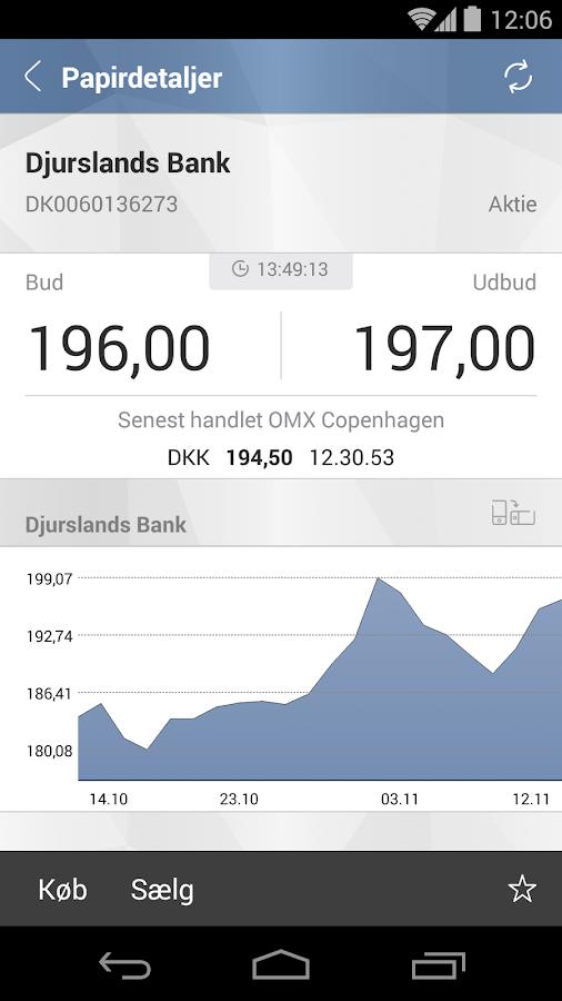 Djurslands Banks MobilBank- screenshot