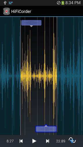 HiFiCorder:記錄聲音