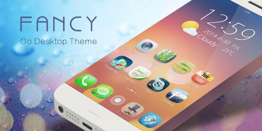 Fancy GO Launcher Theme