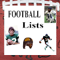 Football Lists (NFL) icon