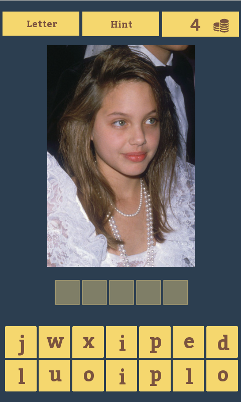 Guess the celebrity- screenshot