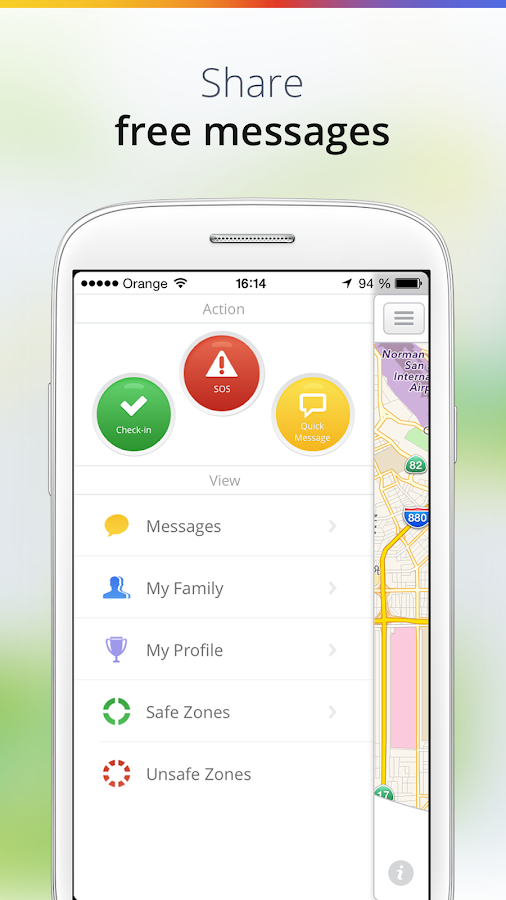 Family GPS Tracker - screenshot