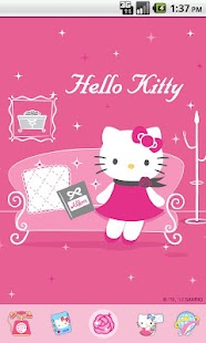 Hello Kitty Miss You Theme - screenshot thumbnail