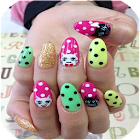 Nail Art Designs Set- Three icon