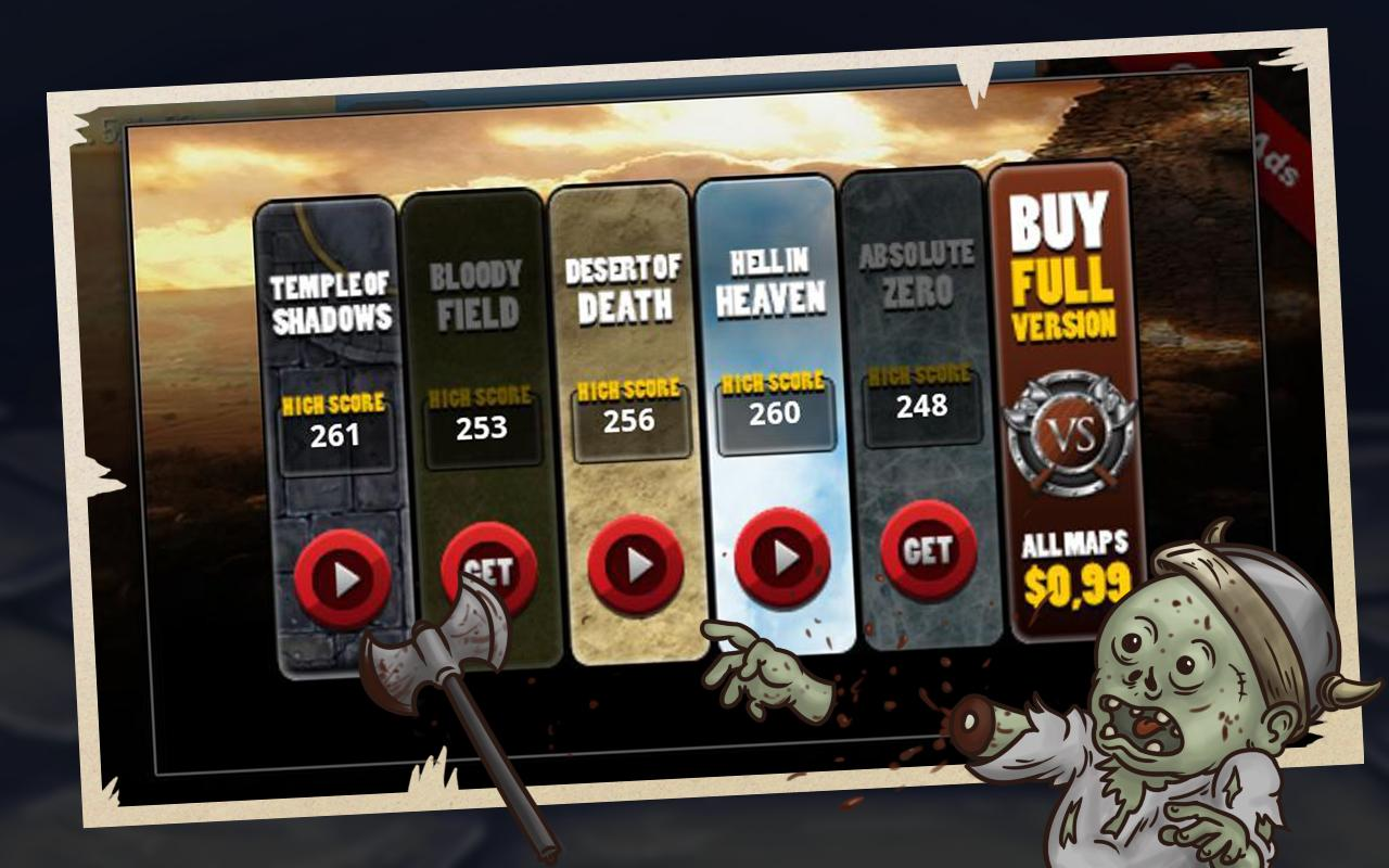 Vikings vs Zombies FREE - screenshot